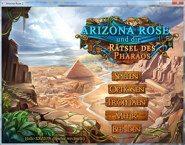 Arizona Rose und die Rätsel des Pharaos [DE]