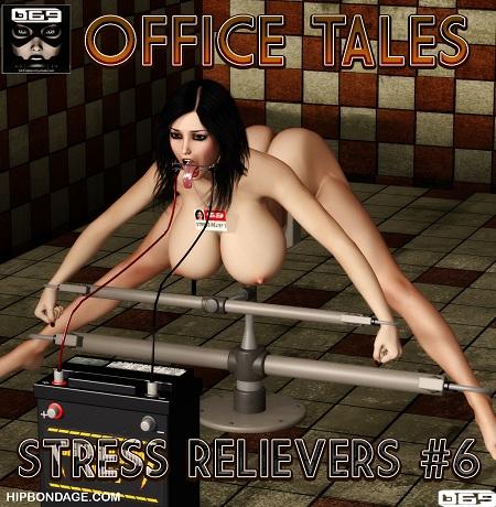 Hipbondage - Office Tales – Stress Relievers 6 3D XXX comic.