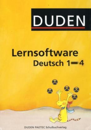 : Duden Lernsoftware Deutsch 1 - 4 - Komplettpaket