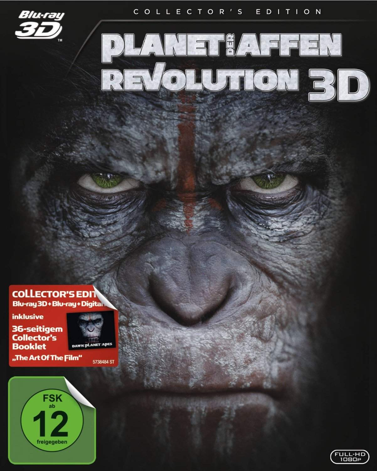 Kkuee4xs in Planet der Affen Revolution 3D HOU German DL 1080p BluRay x264