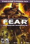 F.E.A.R. Mission Perseus (Perseus Mandate) Deutsche  Texte Cover