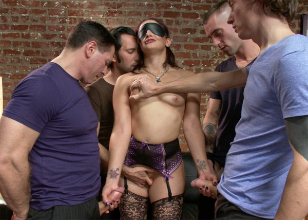HardCore Gang Bang - Sheena Ryder - Dirty Girlfriend Sheena Ryder Gets Covered In Cum WebRip (2014)
