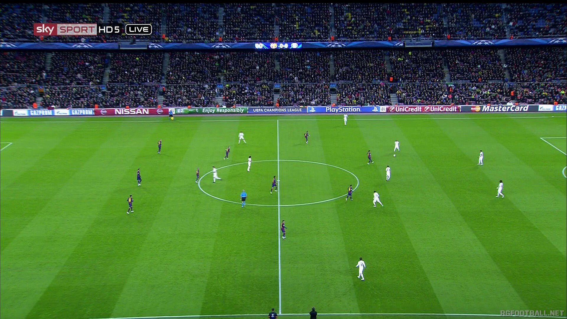 Camp nou, barcelona , spain more details: series 0 - 0.