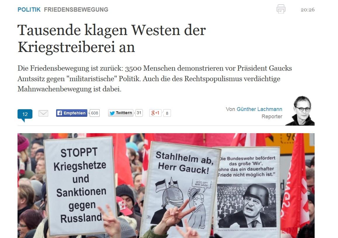 http://www.welt.de/politik/deutschland/article135337857/Tausende-klagen-Westen-der-Kriegstreiberei-an.html