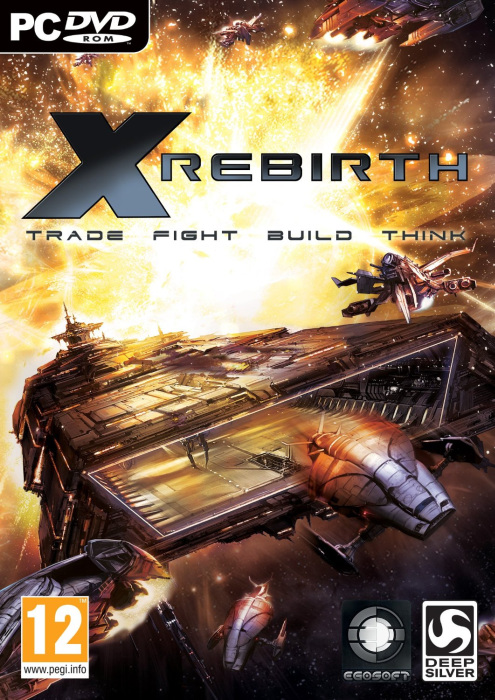 X Rebirth Deutsche  Texte, Untertitel, Menüs, Videos, Stimmen / Sprachausgabe Cover