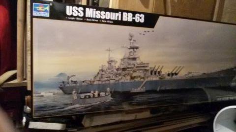 USS Missouri BB-63 - Ungefähr 1949-51- 1-200 von Trumpeter Imcl8fvg