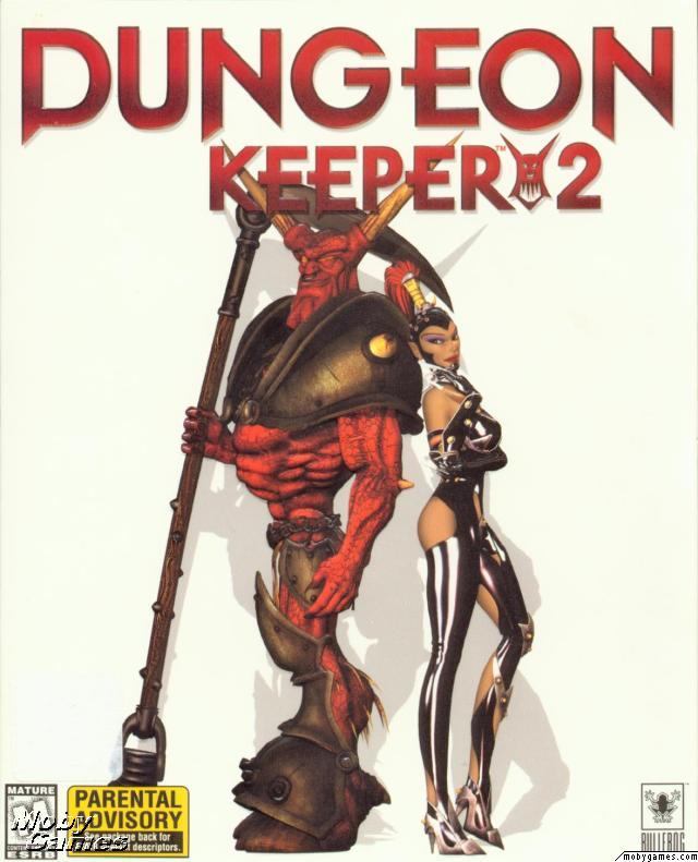 Dungeon Keeper 2 Deutsche  Texte, Untertitel, Menüs, Videos, Stimmen / Sprachausgabe Cover