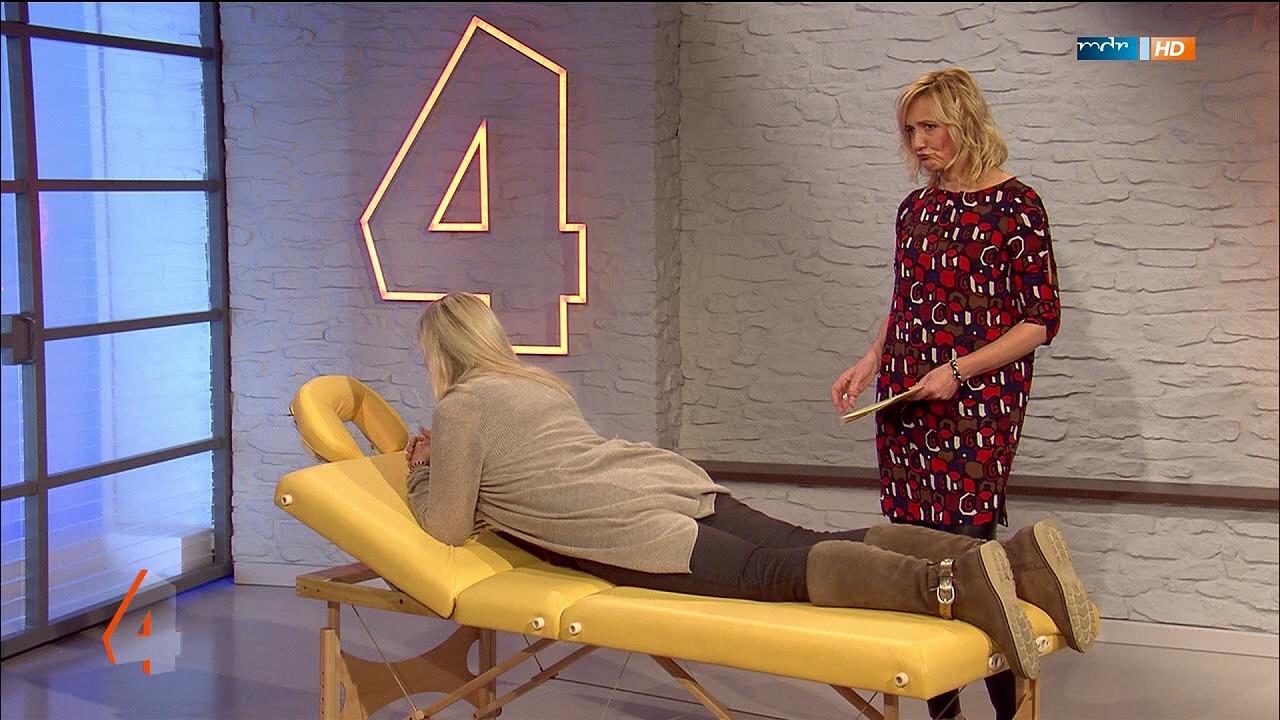 die sportliche sch ne runde und gesunde dr franziska rubin in mdr um vier am. Black Bedroom Furniture Sets. Home Design Ideas