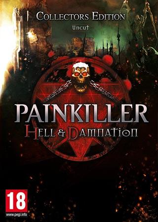 Painkiller: Hell & Damnation Deutsche  Texte, Untertitel, Menüs, Stimmen / Sprachausgabe Cover