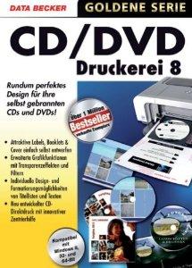 : Data Becker Cd/Dvd Druckerei v8