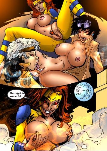 Читать порно комиксы про супергероев