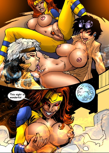 Una Mujer Studios  – Comic Parody X-Men