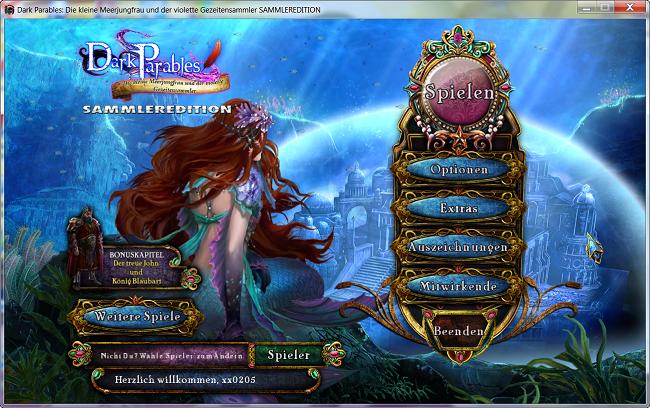 Dark Parables 8: Die kleine Meerjungfrau und der violette Gezeitensammler Sammleredition [DE]
