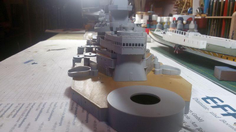 USS Missouri BB-63 - Ungefähr 1949-51- 1-200 von Trumpeter - Seite 2 Ddwhlm7d