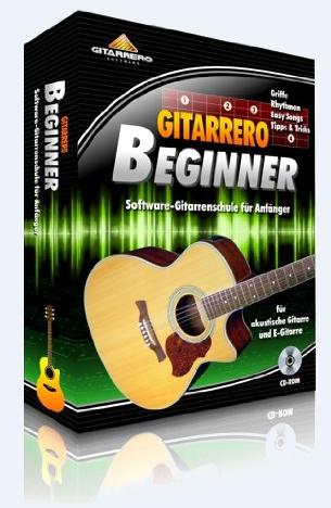 : Gitarrero Beginner - Gitarre lernen am Computer für Anfänger