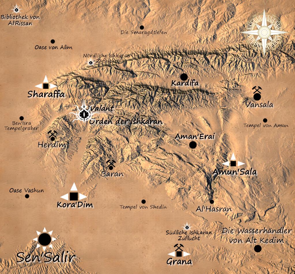 Dornen von Akaresh - Karte und Hintergrund Zg66vt8y