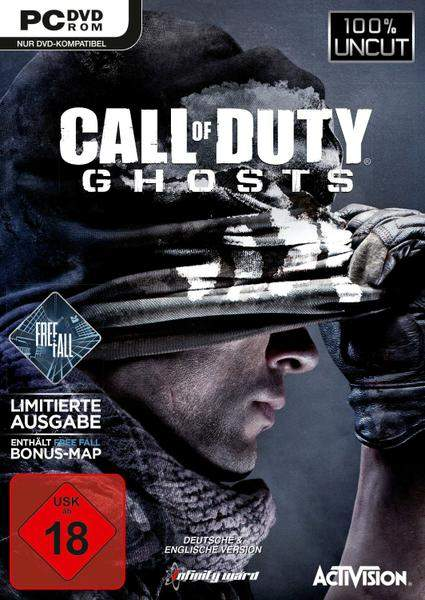 Call of Duty: Ghosts Deutsche  Texte, Untertitel, Menüs, Stimmen / Sprachausgabe Cover