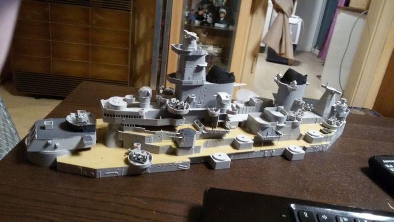 USS Missouri BB-63 - Ungefähr 1949-51- 1-200 von Trumpeter - Seite 2 Bfgvzzvh