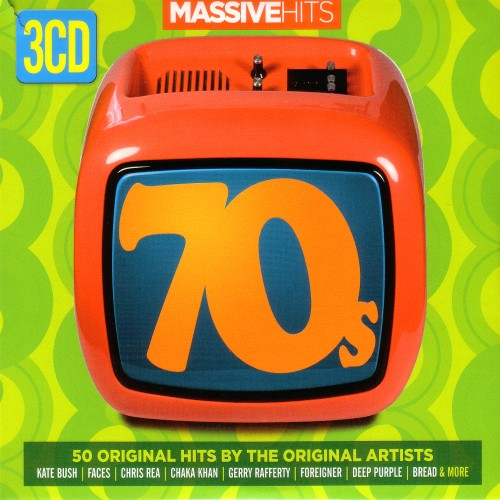 70s: 50 Original Hits By The Original Artists (3 CD) (2015)