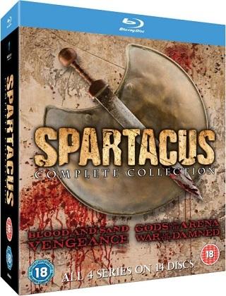 download Spartacus S01 - S04