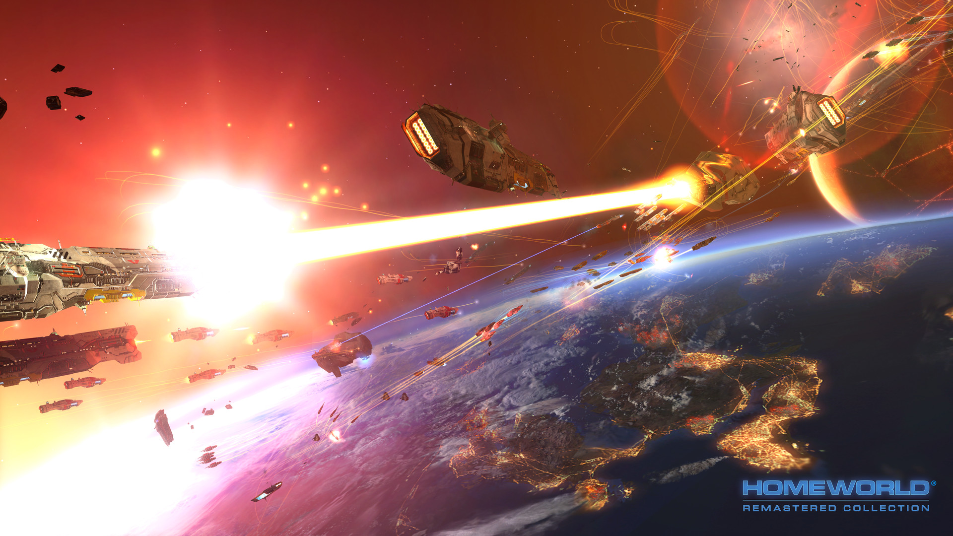 Homeworld Remastered Collection (Gearbox Software	) (RUS|ENG) [RePack]  [2015] [Real-Time Strategy(RTS)]