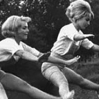 Sportliche Damen