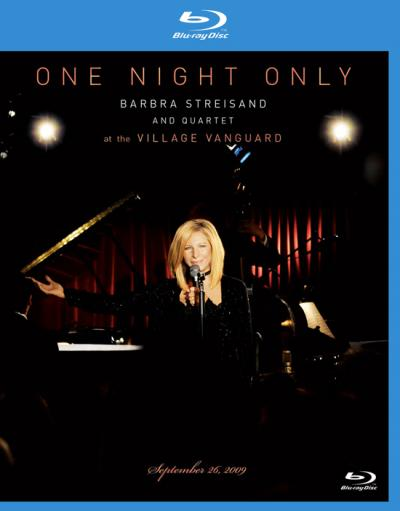 One Night Only: Barbra Streisand And Quartet At The Village Vanguard (2009) Blu-ray 1080p AVC TrueHD 5.1 Eng