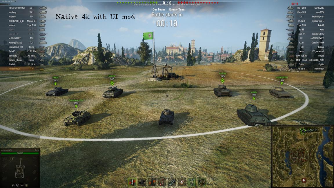 world of tanks ingame stats mod