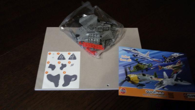 Airfix J6005- Quick Build F22 Raptor- LEGO von Airfix! Onn686rt