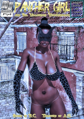 Panther Girl And the Villanous Veterinarian 1-8