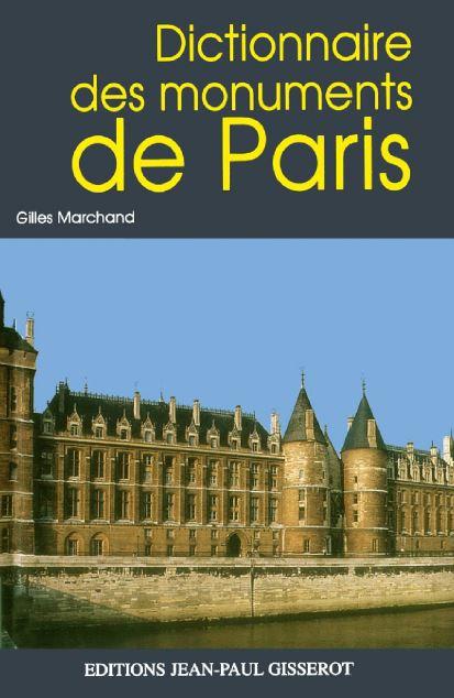 Dictionnaire des monuments de paris