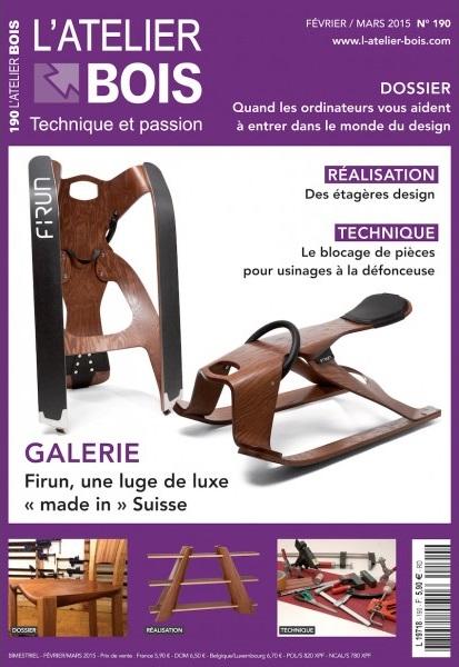 L'Atelier Bois Magazine No.190 - Février-Mars 2015