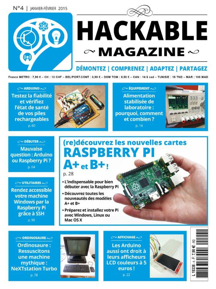 Hackable Magazine No.4 - Janvier-Février 2015