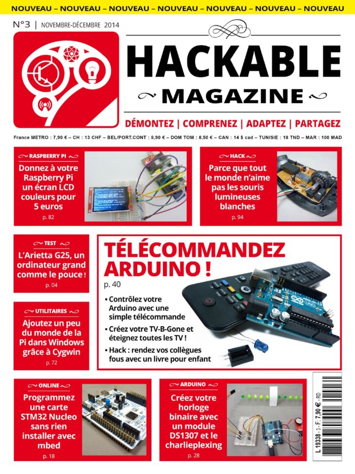 Hackable Magazine No.3 - Novembre-Décembre 2014