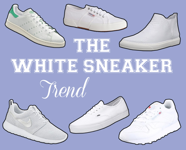 The White Sneaker Trend