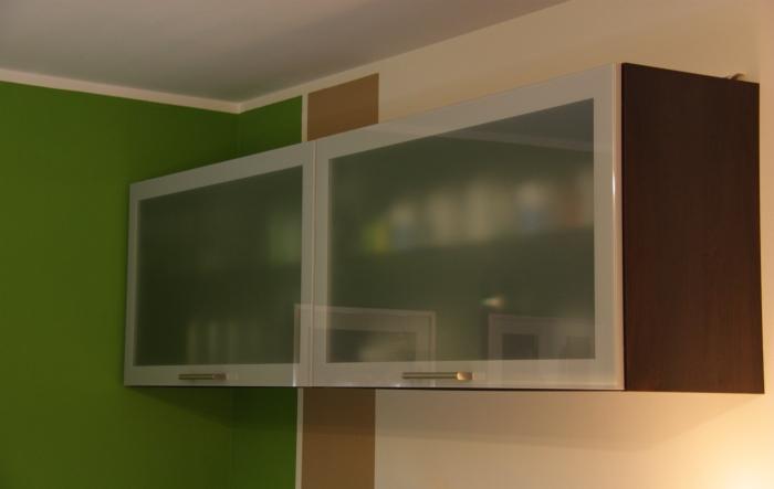 moderne einbau k che l form hochglanz front farbe magnolie ebay. Black Bedroom Furniture Sets. Home Design Ideas