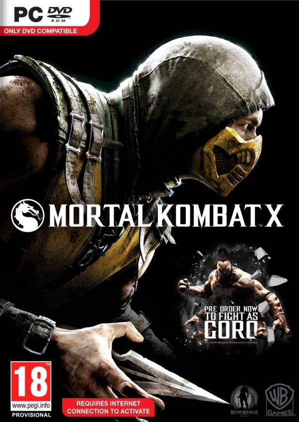 Mortal Kombat X – CODEX