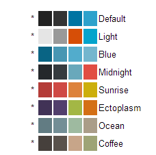 WordPress Color Schemes