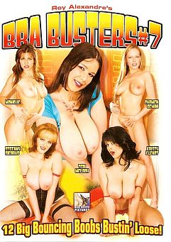 Bra Busters #7 Cover