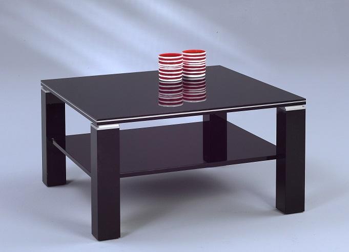 Couchtisch Jori, schwarz hochglanz, Tisch, Wohnzimmertisch