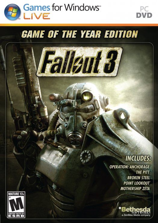 Fallout 3 - Game of the Year Deutsche  Stimmen / Sprachausgabe Cover