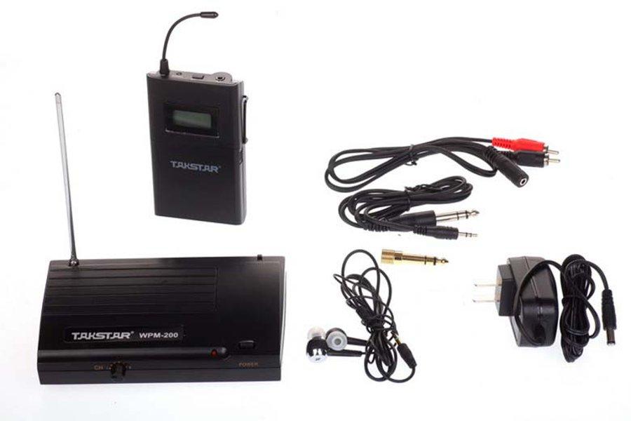 In Ear Monitor System Monitor Inalambrico Wpm 200 Takstar