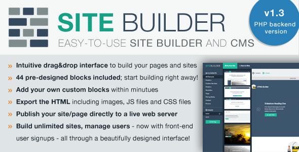 SiteBuilder Lite - Drag&Drop site builder and CMS (SITEBUILDERLite 1.3)