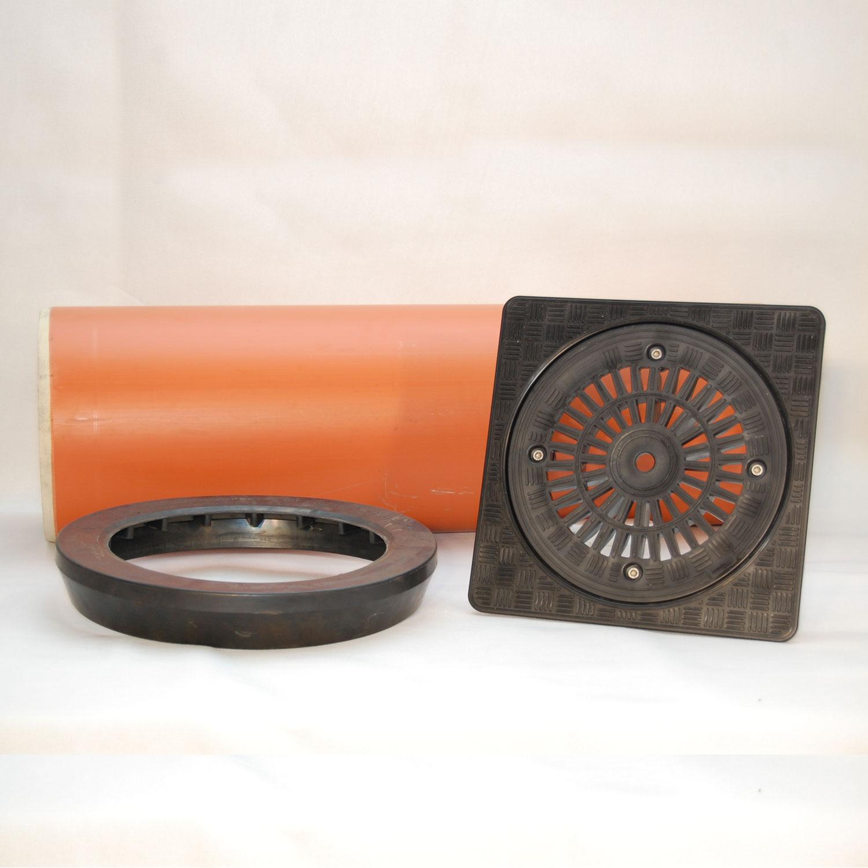 kg teleskopabdeckung dn300 1m schachtabdeckung mit deckel a15 pr flast 3 t ebay. Black Bedroom Furniture Sets. Home Design Ideas