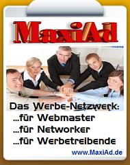 Maxiad.de Werbebanner