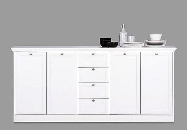 wohnzimmerschrank landhausstil wei raum und. Black Bedroom Furniture Sets. Home Design Ideas