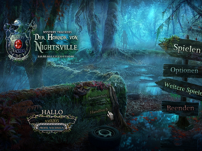 Mystery Trackers 8: Der Horror von Nightsville Sammleredition [DE]