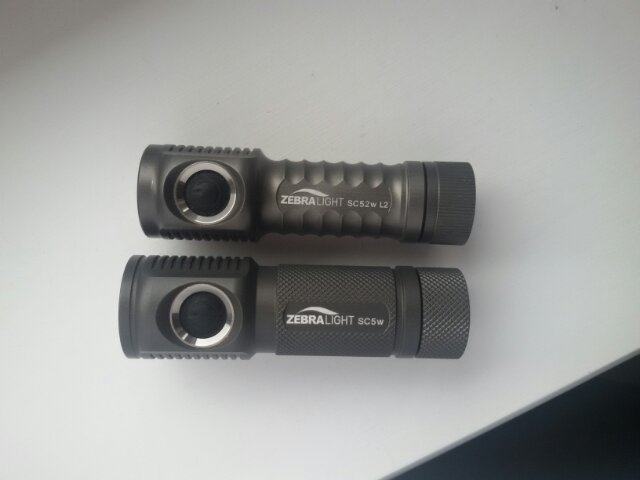 Zebralight SC5 and SC5w First Impressions - Page 7