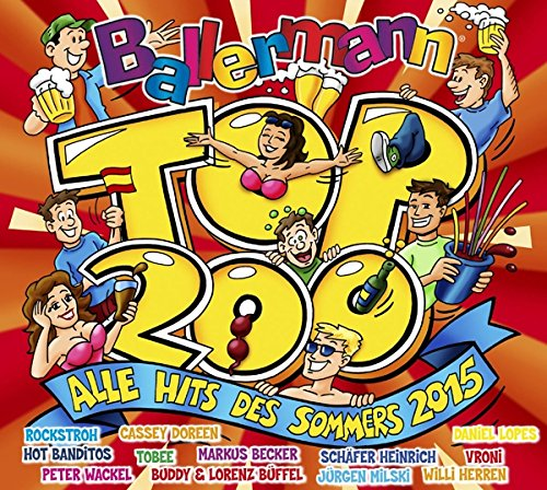 Ballermann Top 200 - Alle Hits Des Sommers 2015 (2015)