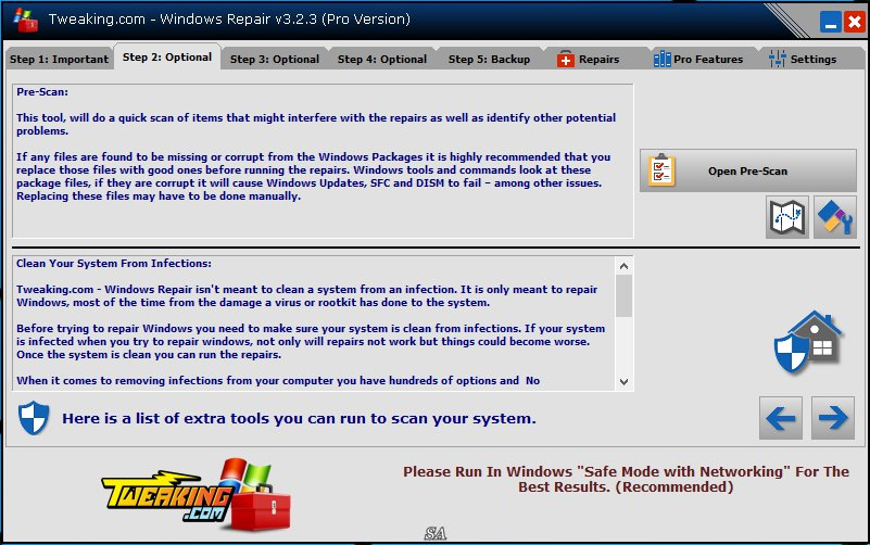 Windows Repair 3.2.3 + Portable [Shareware / English]